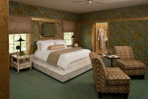 The Roman Suite is one of the best places to unwind after the Natchez Pilgrimage.