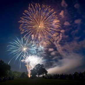 Fireworks at the Reservoir