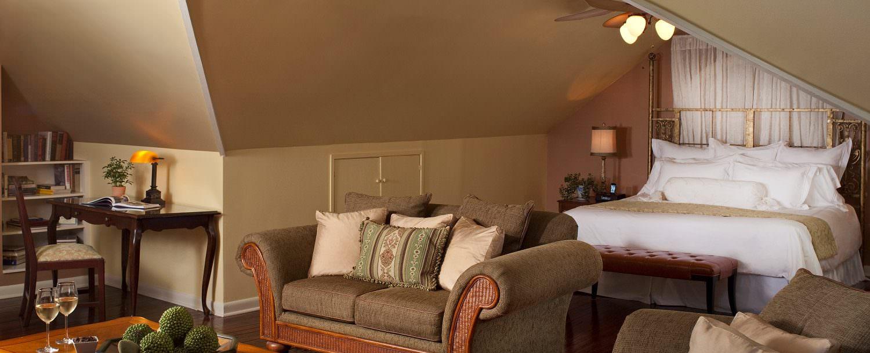 Hayloft Suite at Fairview Inn