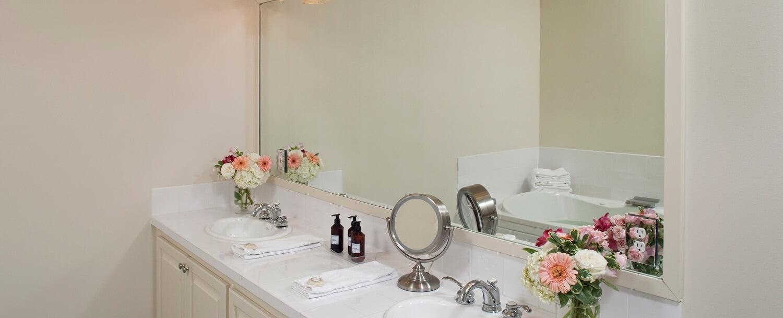 Eudora Welty Room bathroom vanity